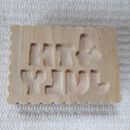 "Wooden ""4thofJuly"" usa stamp,wood usa soap/biscuit/candle/ceramic mould,"