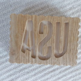 1pc wooden USA soap/biscuit/candle/ceramic mould, USA symbol