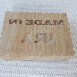 1 pc wooden USA soap/biscuit/candle/ceramic mould, USA symbols
